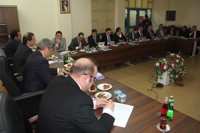 Bitlis'te Turizm Konulu Değerlendirme Toplantısı