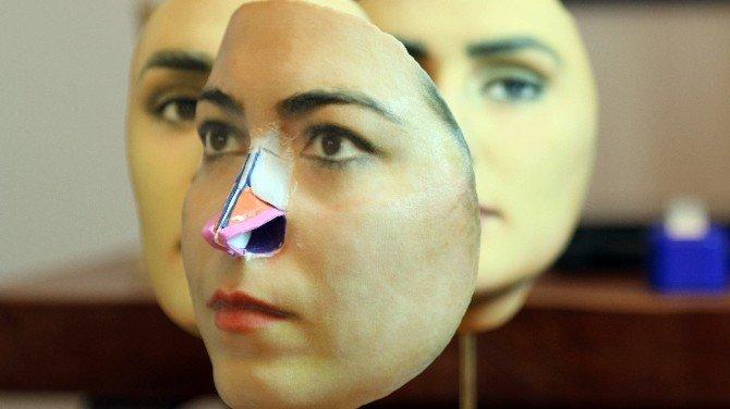 3d Mask İle Burun Estetiği