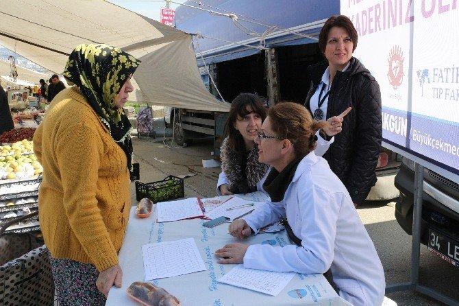 Büyükçekmece Belediyesi'nden Ücretsiz Mamografi