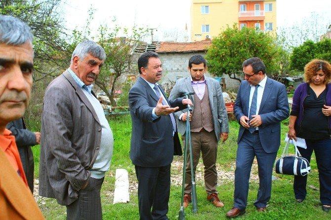 Büyükşehir, Dalaman'da Çiftçileri Bilgilendirdi