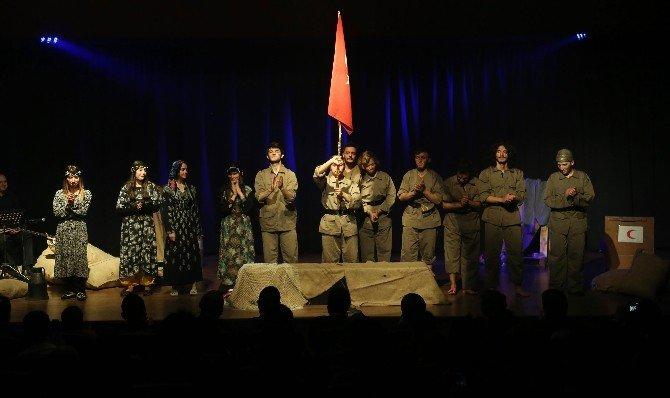 Canik Tiyatro Okulu İlk Sınavını Başarıyla Verdi