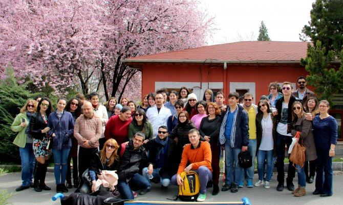 ERASMUS öğrencileri, Çankaya'daki engellilere yönelik projeleri inceledi