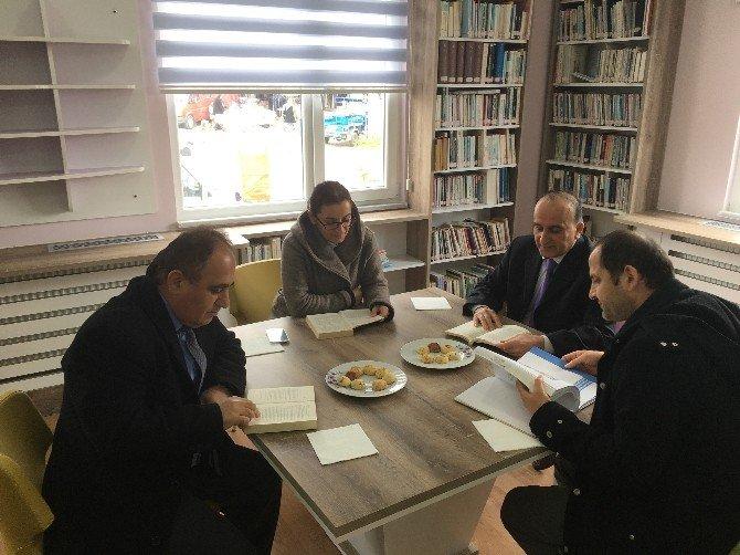 Çaybaşı'nda 52.kütüphaneler Haftası Kutlandı