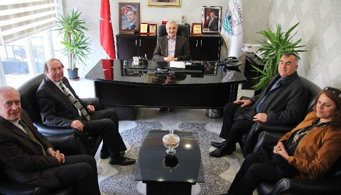 CHP'den Başkan Karataş'a Ziyaret