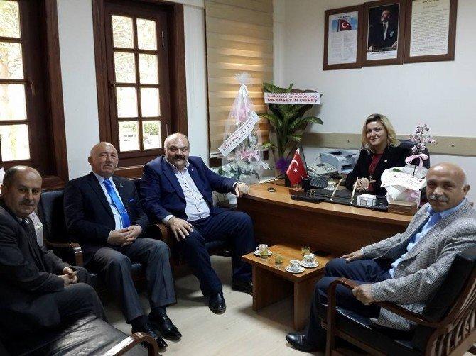 Mahmut Demir'den Engelli Ve Gazilere Ziyaret