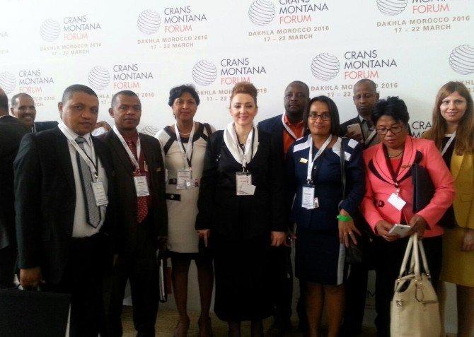 Türkiye İş Dünyası Crans Montana'ya Damgasını Vurdu