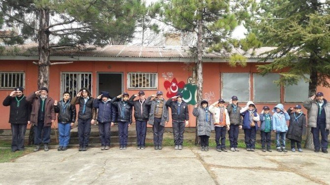 Eskişehir Fatih Gençlik Spor Ve İzcilik Kulübü'nden Hafta Sonu Kampı