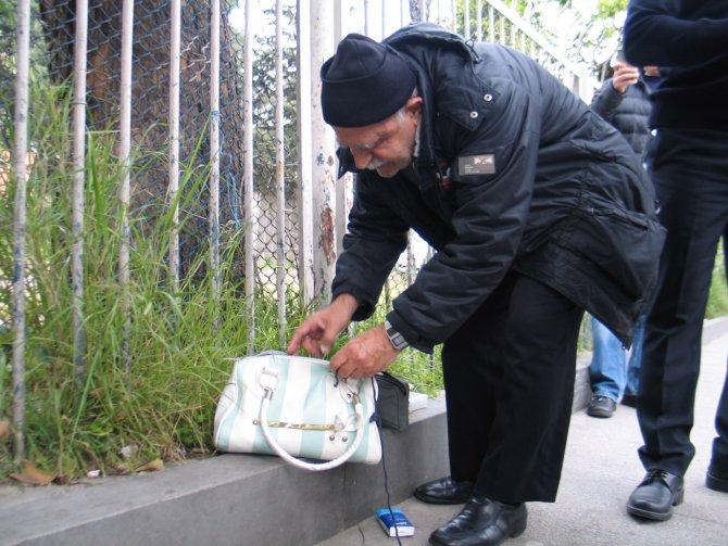 Fatih'te şüpheli çanta paniği