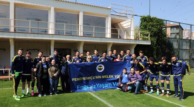 Fenerbahçe'ye; Engelsiz Yaşam Vakfı'ndan ziyaret