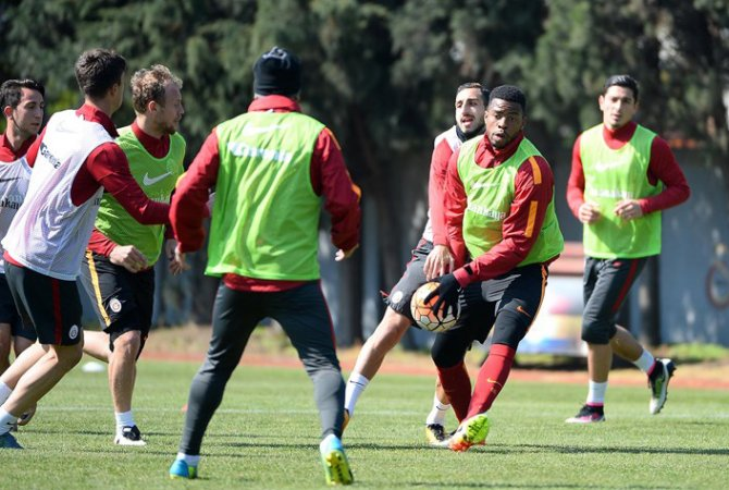 Galatasaray, Eskişehir maçının hazırlıklarını sürdürdü