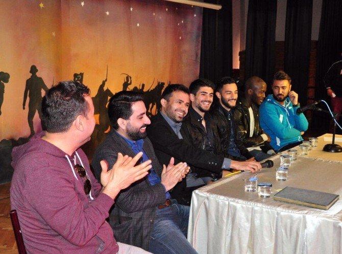 Gaziantepsporlu Oyuncular, Öğrencilerle Buluştu