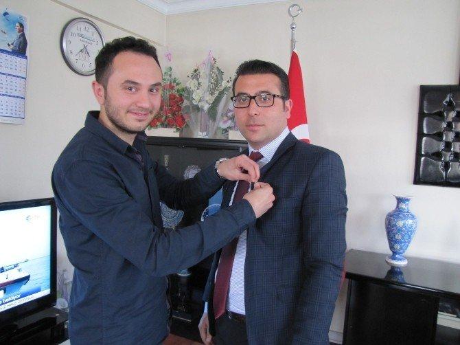 Hisarcık TEMA Vakfı'ndan Kaymakam Bayraktar'a Ziyaret