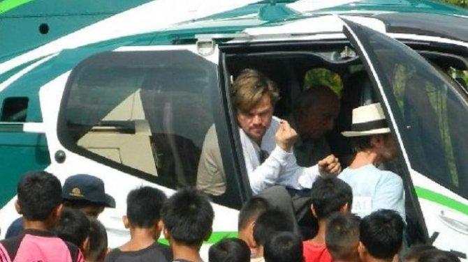 Leonardo DiCaprio Açe'de