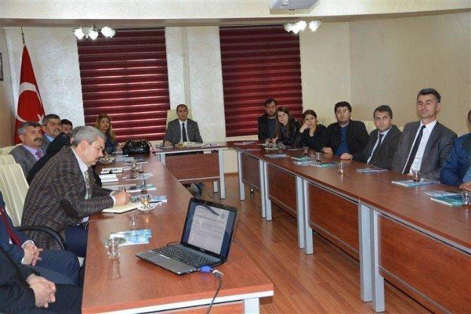 Proje Destek Çağrısı Eğitim Ve Bilgilendirme Toplantısı Yapıldı