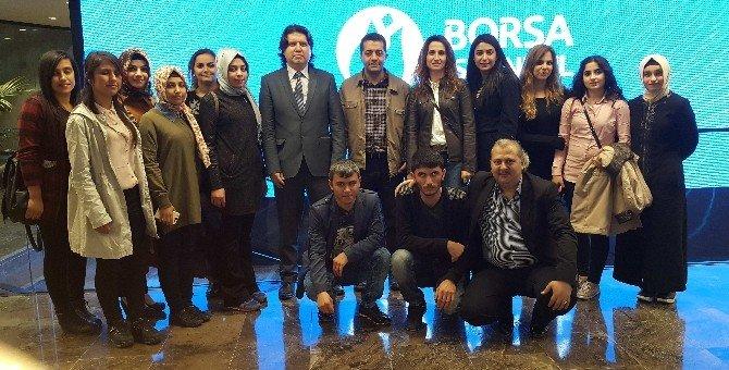 İslahiye İibf Öğrencilerinden Borsa İstanbul'a Teknik Gezi