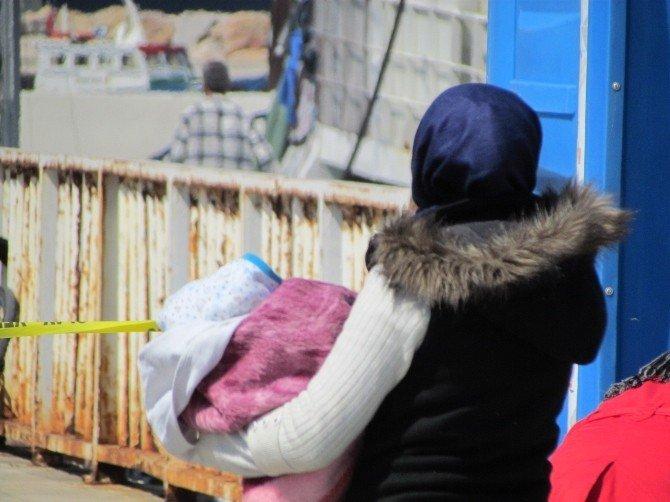 En Küçük Sığınmacı Eyisa Bebek İkinci Kez Kurtarıldı