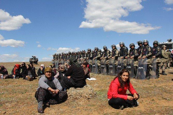CHP Milletvekilleri Çadırkente Karşı