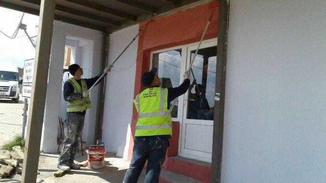Karesi'de Köy Konakları Yenileniyor
