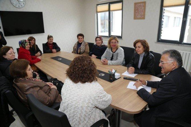 Kayseri Kadın Platformu'nun Melikgazi Ziyareti