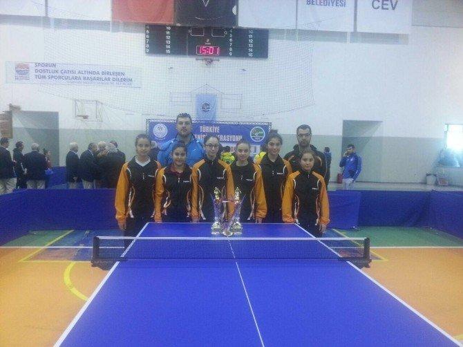 Kocasinan Belediyesi Spor Kulübü Masa Tenisi Bayan Takımı Türkiye Şampiyonu Oldu