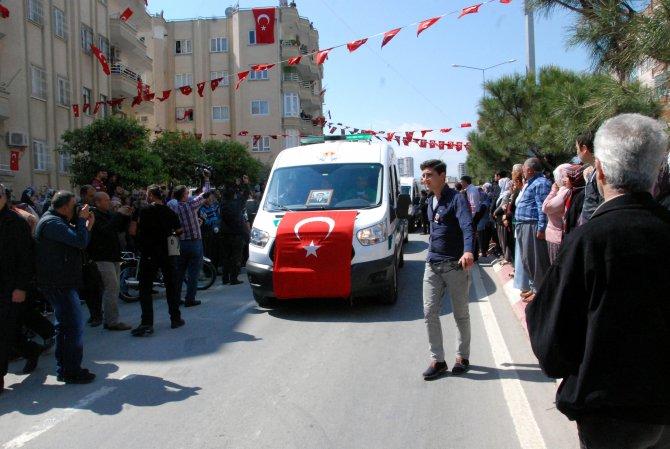 Şehit Jandarma Yüzbaşı Halil Özdemir'in cenazesi baba ocağına getirildi