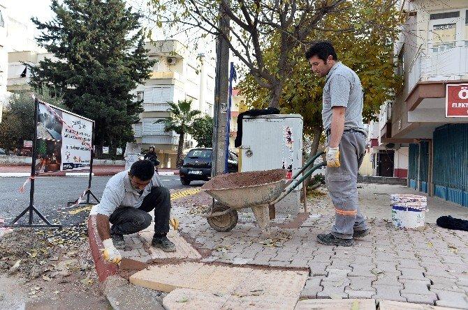 Muratpaşa Belediyesi Kendi Ürettiği Asfaltla Yolları Yenilemeye Başladı