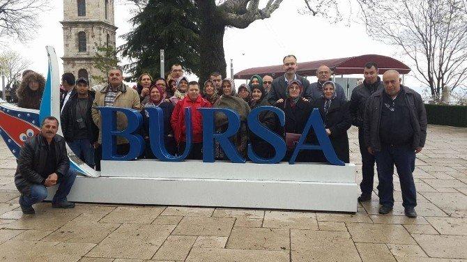 Nazilli Belediyesi'nden Nazender Üyelerine Bursa'yı Tanıma Fırsatı