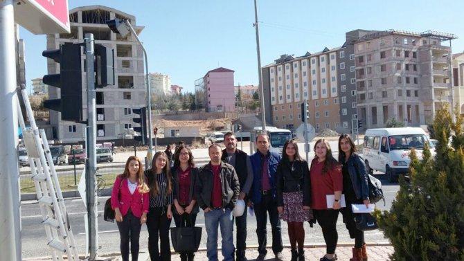 Nevşehir'de 'Lambalar Konuşuyor, Engeller Aşılıyor'