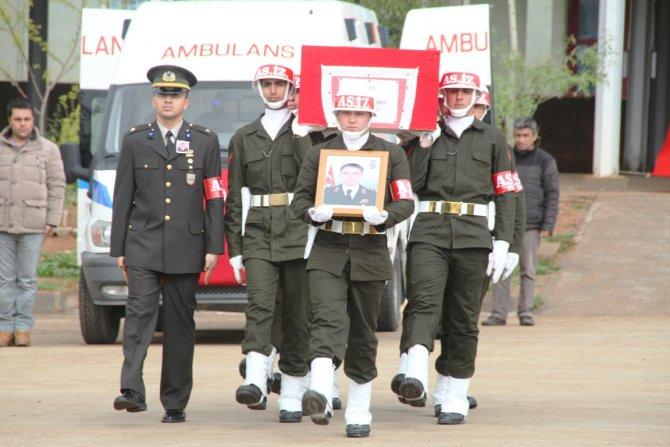Şehit Yüzbaşı için Mardin'de tören düzenlendi