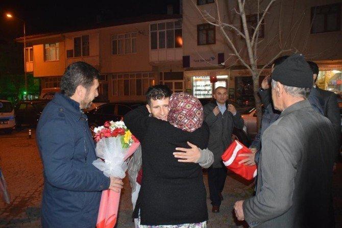 Nusaybin Gazisi Evine Döndü