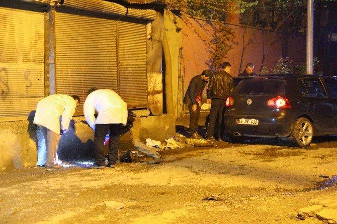 Batman'da Polis Merkezine Atılan El Yapımı Bomba, Sivil Araca İsabet Etti