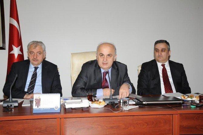 Trabzon İl Paydaşları KTÜ'de Toplandı