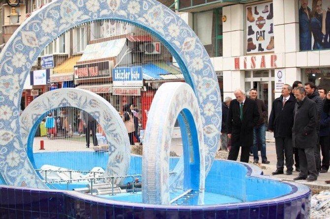 Başkan Kamil Saraçoğlu: Süs Havuzları Kütahya'ya Renk Katacak