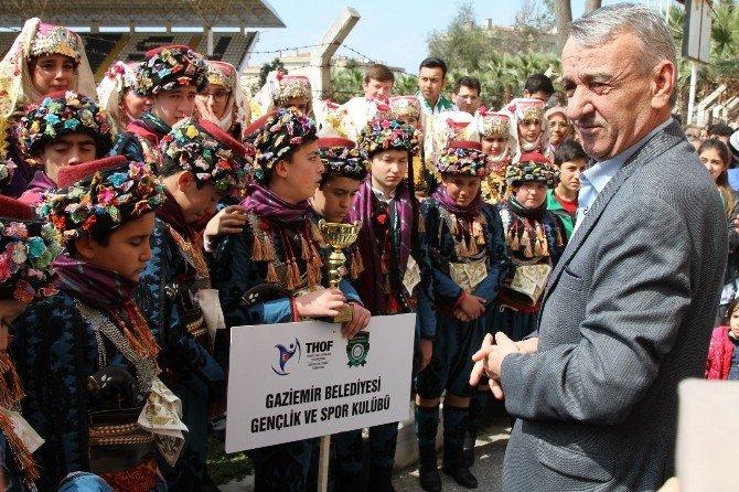 Gaziemir Belediyesi Halk Danslarından Bir Başarı Daha