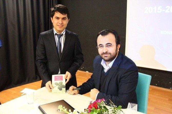 """Yazar Özburun: """"Öğretmen Sınıfın En Çalışkan Öğrencisidir"""""""