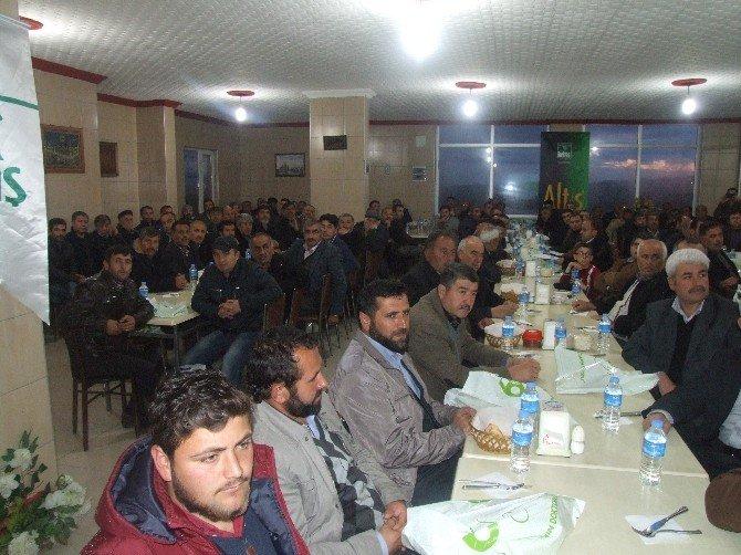 Yerköy'de Çiftçilere Doğru Gübre Ve Zirai İlaç Kullanımı Anlatıldı