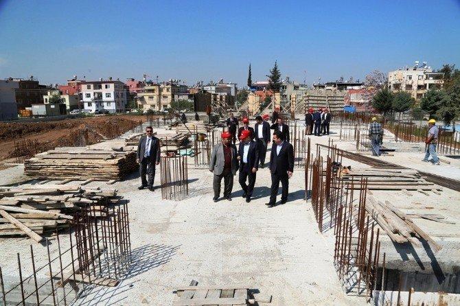 Yüreğir Belediyesi'nden Yurt İnşaatına Destek