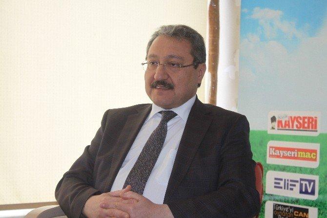 ERÜ Rektörü Prof. Dr. Muhammet Güven: