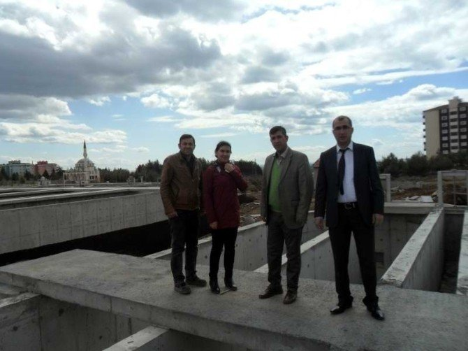 OSB Atıksu Arıtma Tesisi İnşaatı Hızla Devam Ediyor