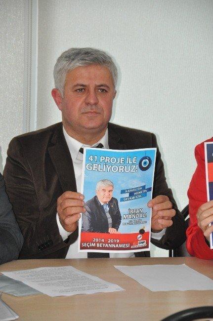 AK Parti İlçe Başkanı Bezgin Başkan Mandalı'yı Eleştirdi