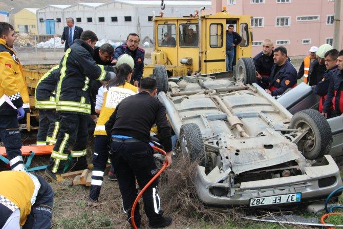 Çankırı'da kaza: 2 ölü, 2 yaralı