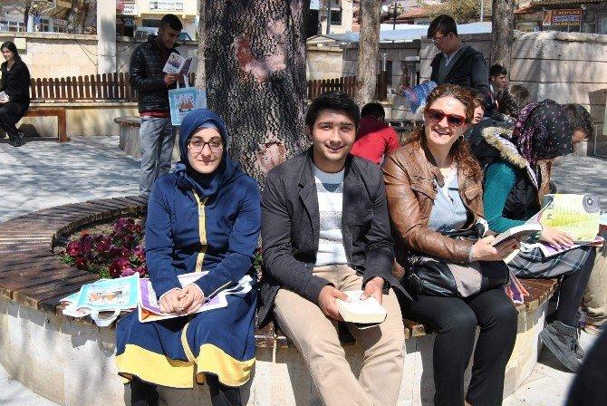 Avanos'ta Kitap Okuma Şenliği Düzenlendi