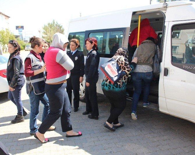 Aydın'da Fuhuş Operasyonu: 20 Gözaltı