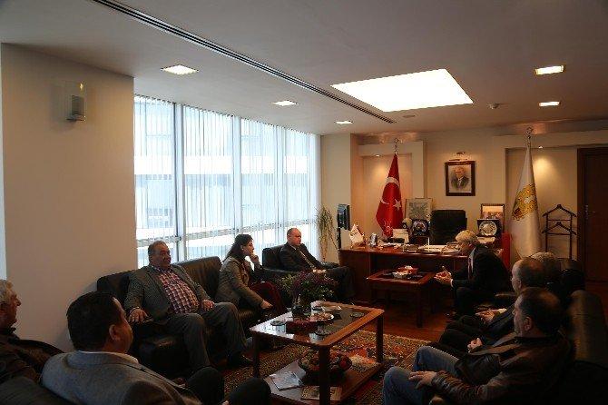 Bulgar Başkonsolos Valchev'den, ETSO'ya Ziyaret