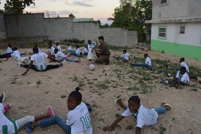 Haiti'de Ulu Şehir Bursa'yı Tanıtıyor
