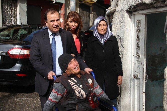 Suriyeli Engelli Gencin Hayalini Fatma Şahin Gerçekleştirdi