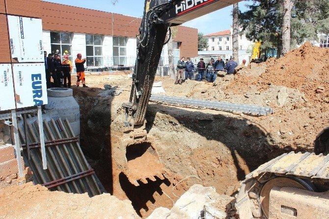 Denizli'de Hastane İnşaatında Göçük: 2 İşçi Öldü