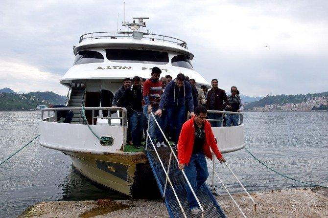 Arap Turizmciler Giresun Adası'nı Gezdi