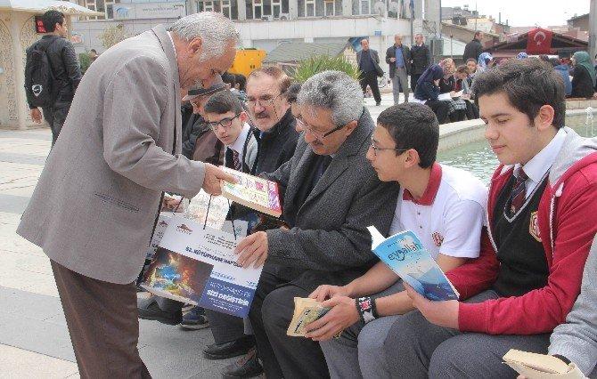 Elazığ'da Sessiz Kitap Okuma Etkinliği