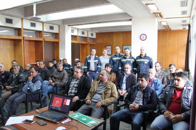 İsdemir'den paydaşlarına iş sağlığı ve güvenliği eğitimi